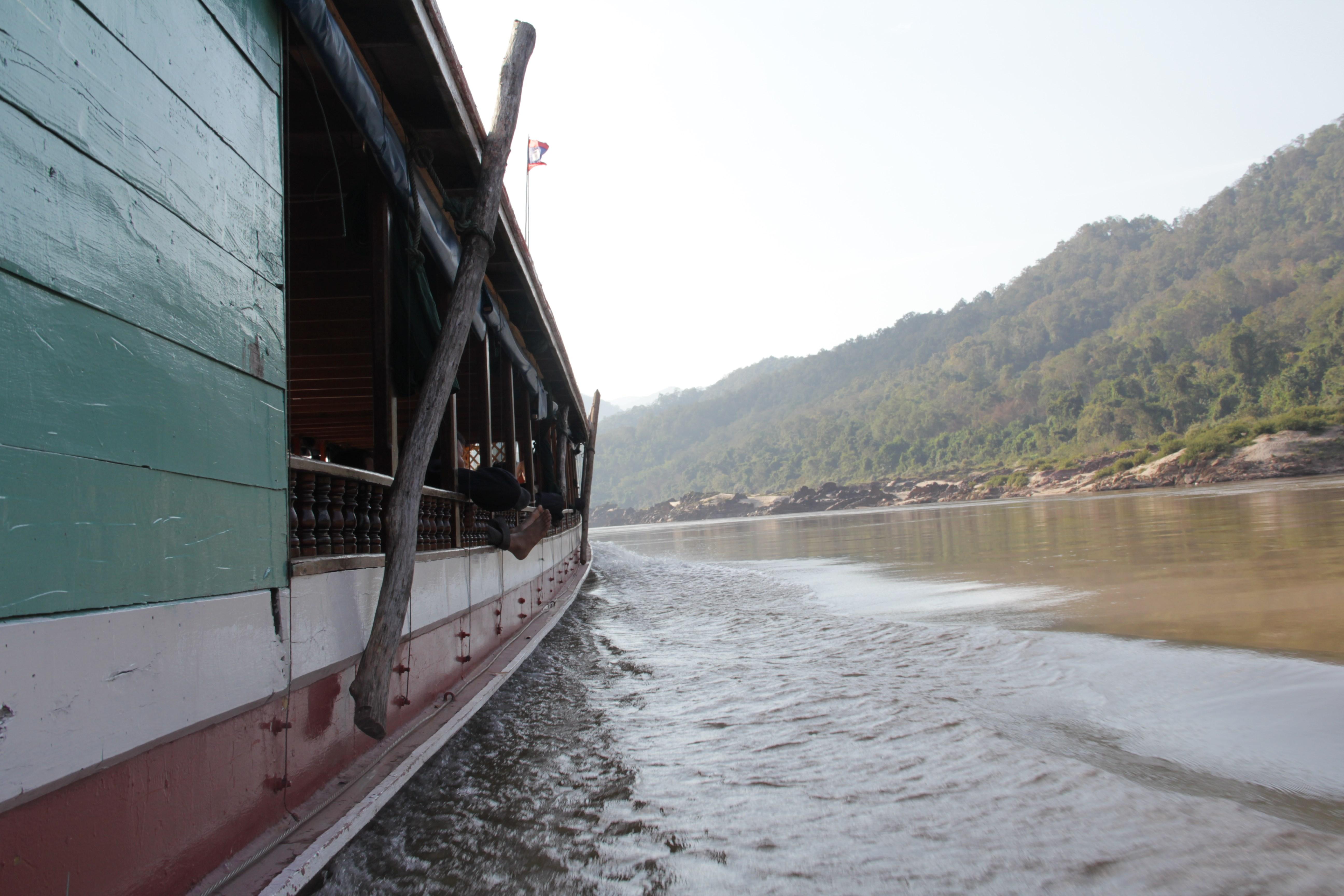 Pendant deux jours, une remontée vers la Thaïlande au fil de l'eau (© Jérôme Decoster).