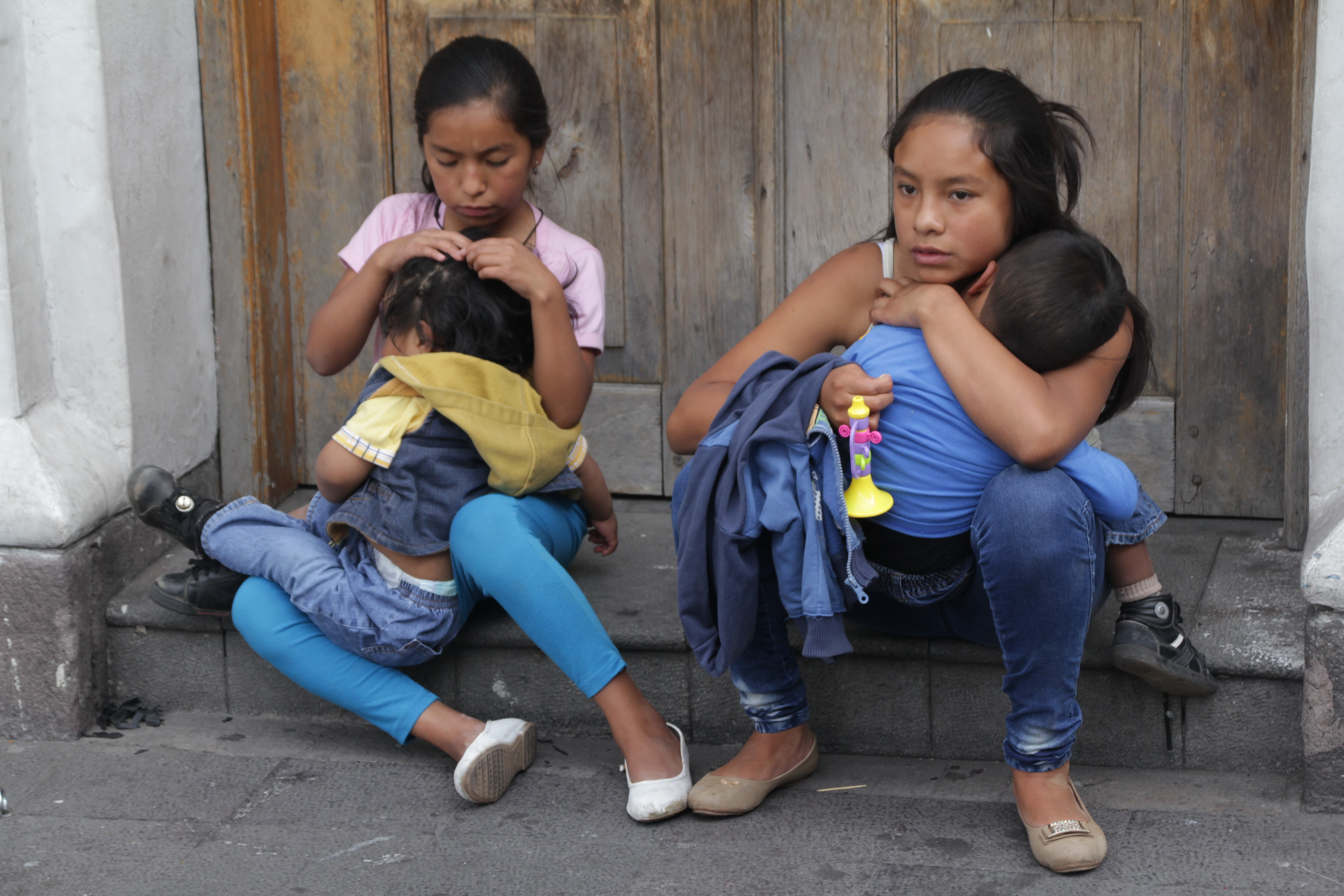 Dans les rues de Quito (© Jérôme Decoster).