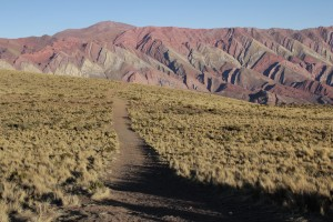 "Quebrada de Humahuaca, ""el Hornacal"" (© Aurélie Bacheley)."