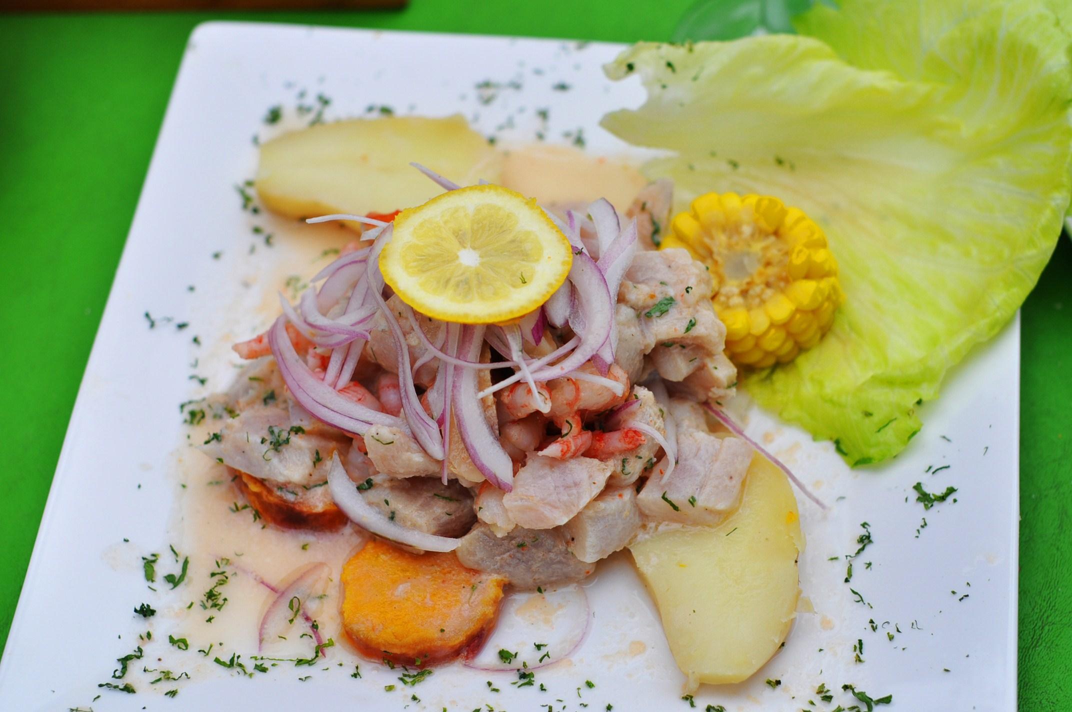 Le ceviche, meilleure spécialité péruvienne ! (photo Flickr / cc by James)
