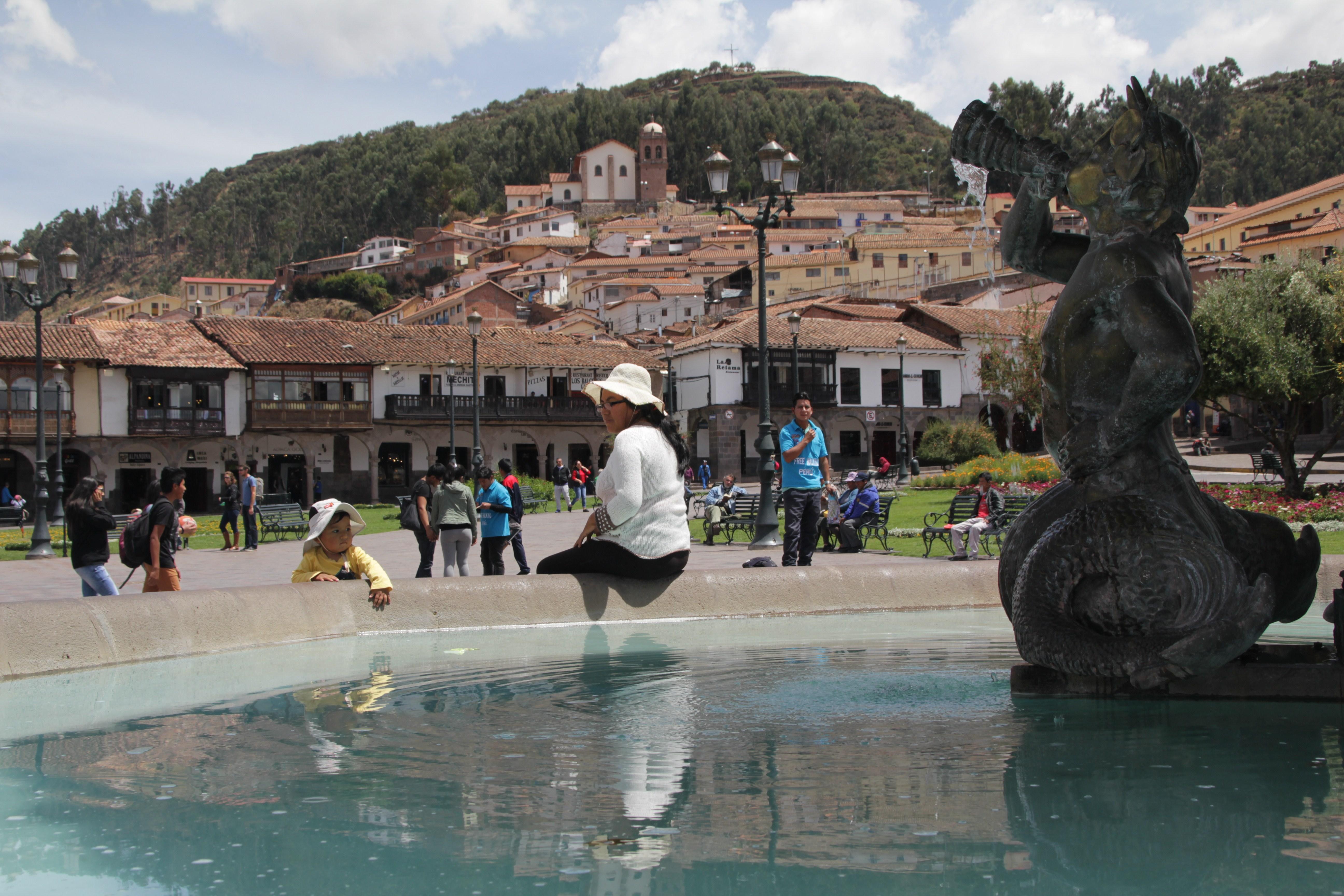 Plaza de Armas, Cusco (© Jérôme Decoster)