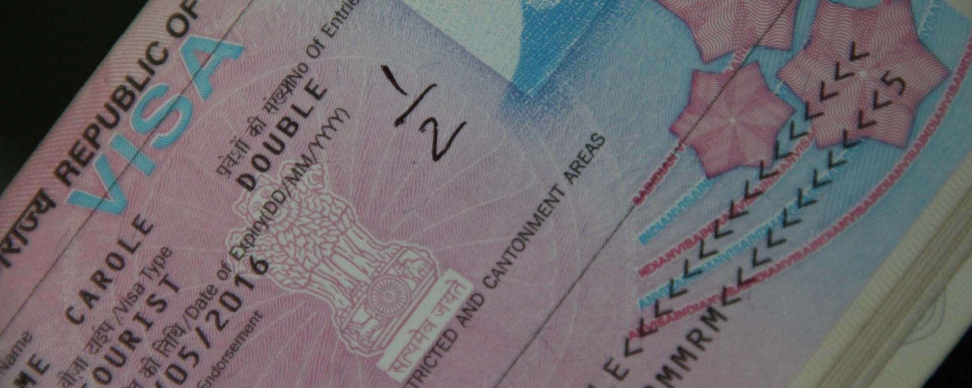 Un véritable parcours du combattant pour obtenir le visa pour l'Inde.