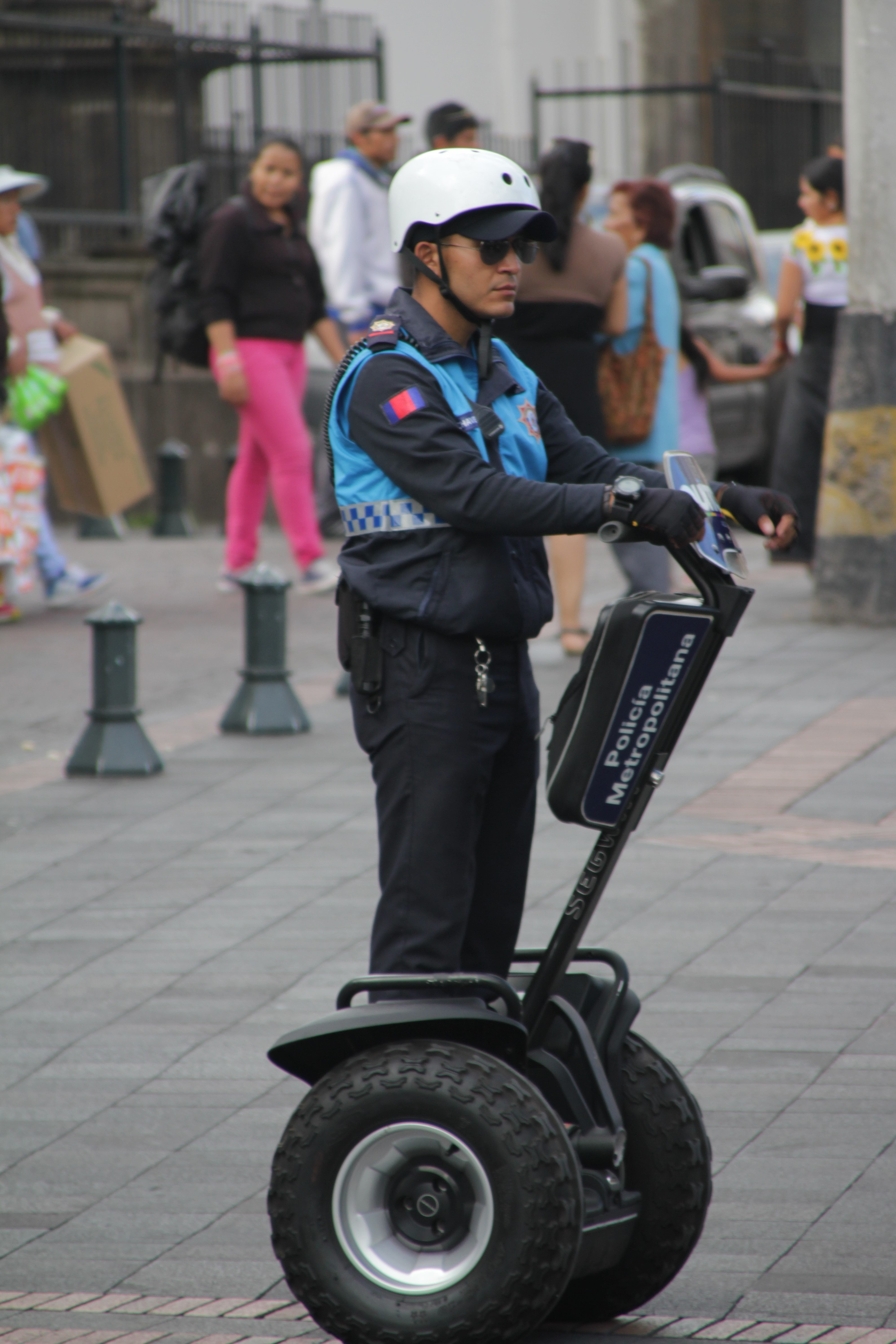 La police, c'est du sérieux (© Jérôme Decoster).
