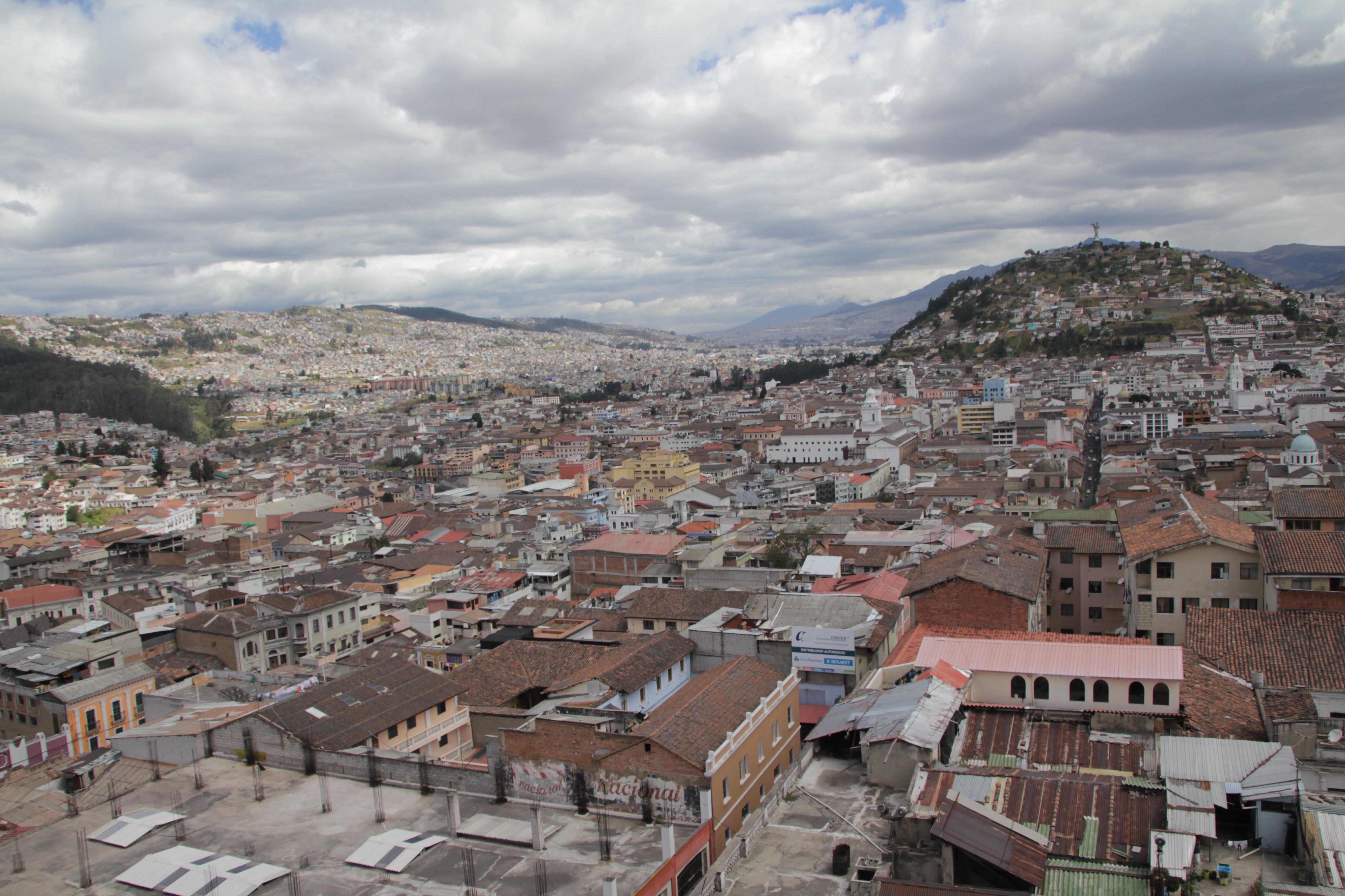 Le centre historique de Quito, classé au patrimoine mondial de l'Unesco (© Aurélie Bacheley).
