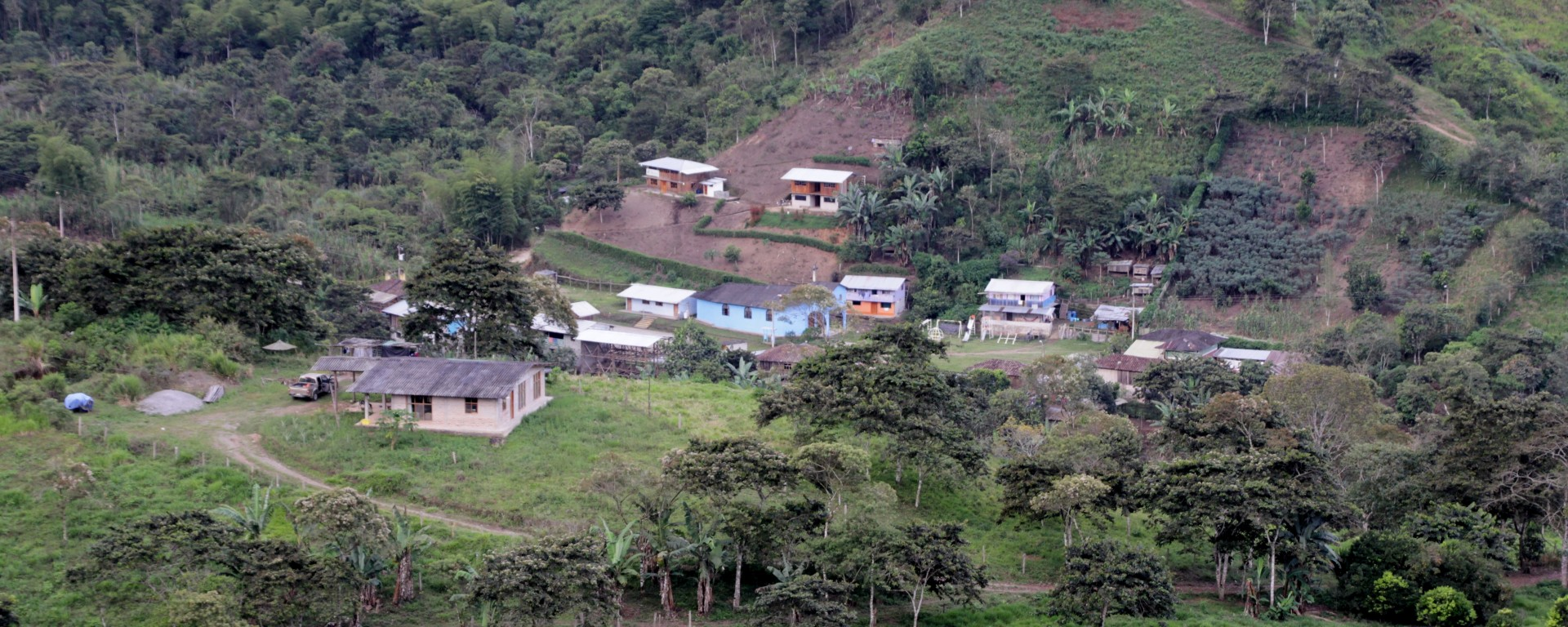 Le hameau de Junin compte 280 âmes (© Jérôme Decoster).