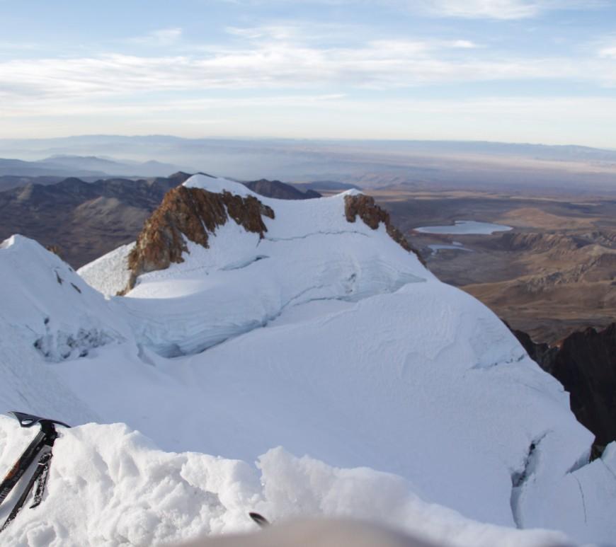 A 6 088 mètres, il n'y a plus qu'à apprécier (© Jérôme Decoster).