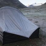 Au réveil, la tente est gelée à Huillca (© Jérôme Decoster).